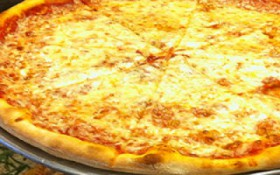 One Large Cheese $5.99 on Mon & Tues