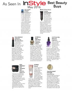 At Beauty and Main: InStyle Beauty Buys