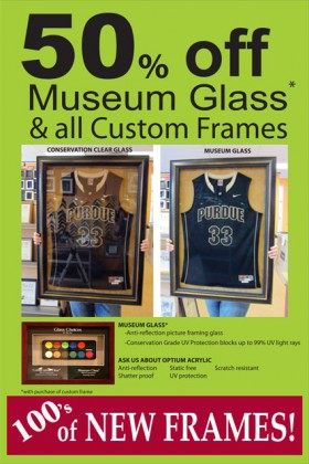 50% off Museum Glass*