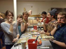 Happy Mom = Fun Sushi Class!