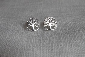 Tree of Life Sterling Studs