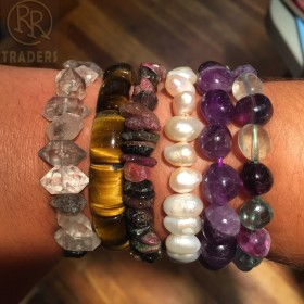 Stack up on Stone Bracelets