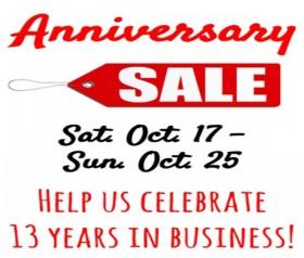 Anniversary Sale