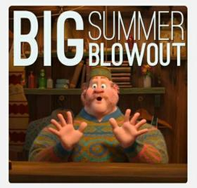 Bigger summer blow out