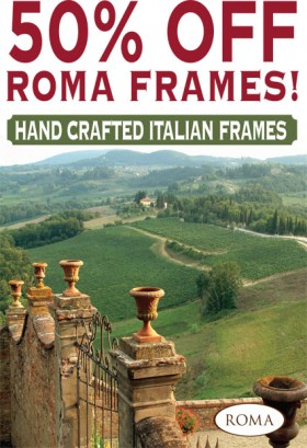 50% Off Roma Frames