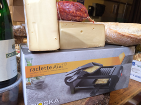 Alpine Cheese and Raclette Machines!