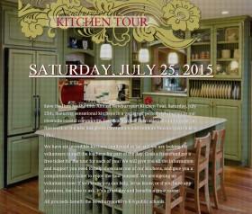 Kitchen Tour Saturday July 25th