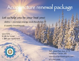 Acupuncture Renewal Package (save $70)