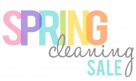 Spring Cleaning Blow-Out Sale!