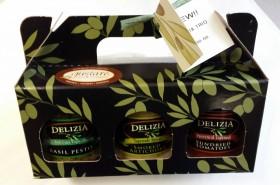 DELIZIA brand GIFT PACK TRIO