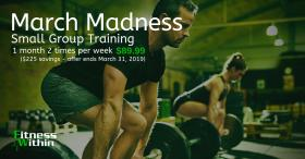 1 Month, 2x Small Group Training $89.99