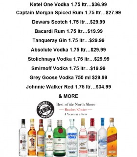 Huge Spirits Sale!