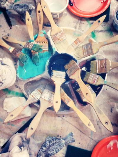Ivy's Basic Chalk & Clay Paint Workshop