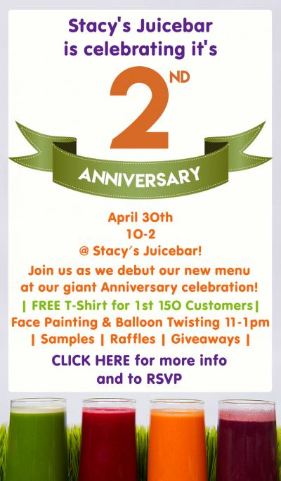 Celebrating Our 2nd Anniversary!