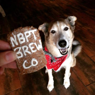 Molasses-Ale Dog Treats