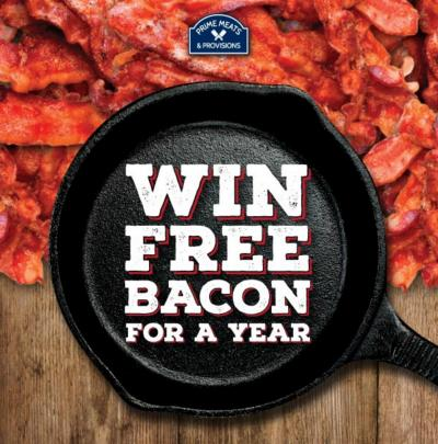 Free Bacon for a Year!