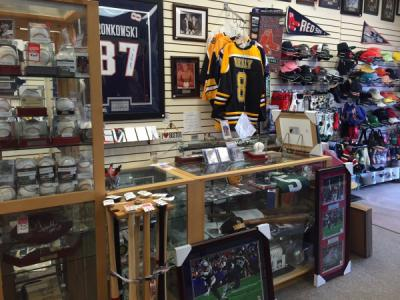Sports Memorabilia and Apparel