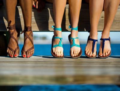 Hot NEW Ribbon Sandals!