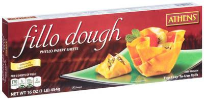 $2.49 for Athens Fillo Dough