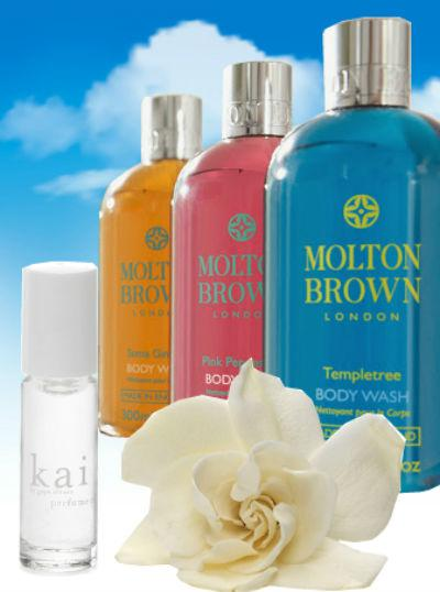 Now In: Molton Brown & Kai Fragrance!
