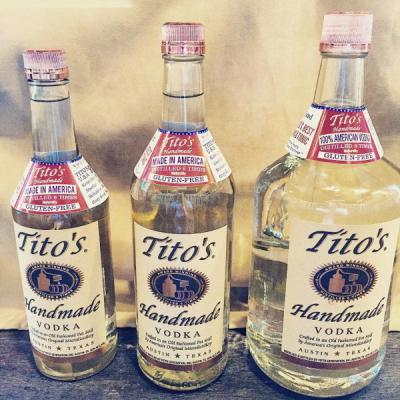 $5 OFF Titos Vodka Handles