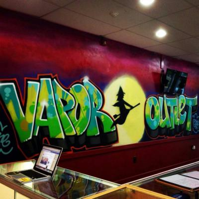 Come visit us at the Vapor Outlet