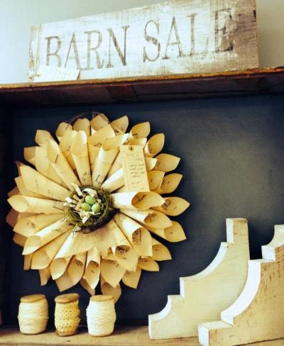 Paper Wreath Workshop