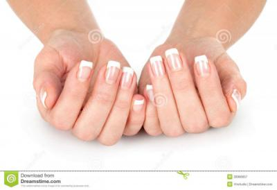 French Manicure for $13
