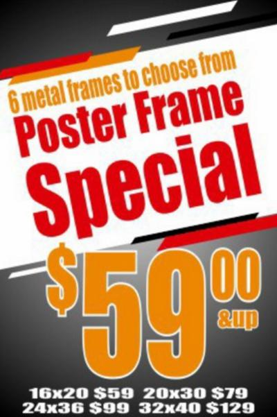 Poster Frame Special