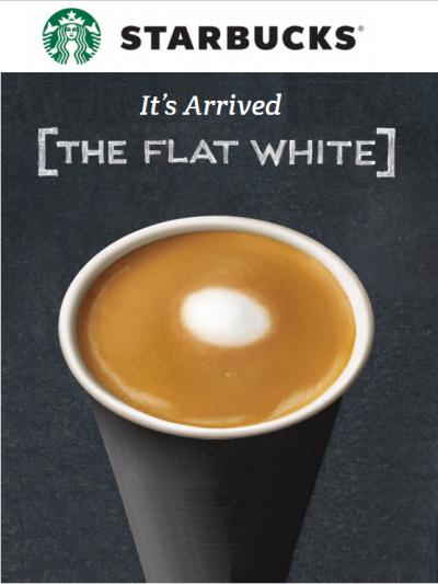 Try It Today..The Flat White!