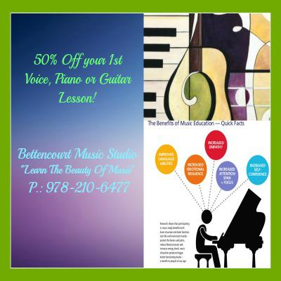 50% Off Your 1st Lesson