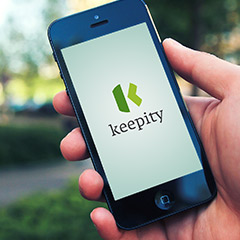 Keepity mobile app