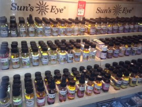 check out our $8.00 oils