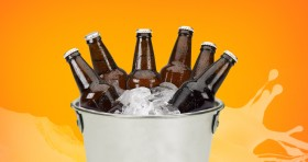 Beer Bucket + XL Cheese Pizza for $29.99