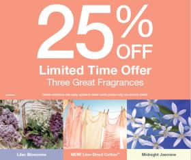 25% off Yankee Candles!