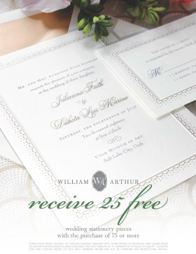 25 Free Wedding Stationery