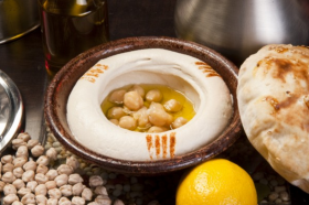 Free Hummus With Any Platter