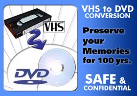 Convert VHS Memories to DVD!