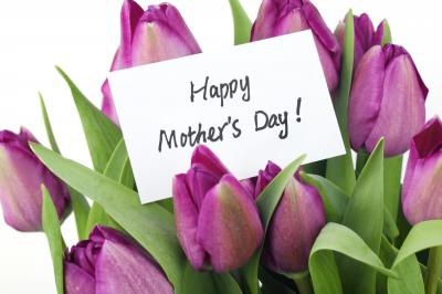 Free deliveries for Mother's Day
