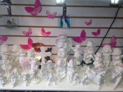 ANGELS white & pink 20% off