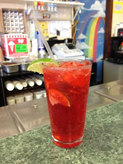 Raspberry Lime Rickey Sale