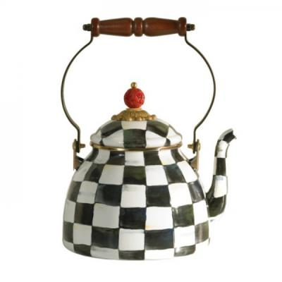 Mackenzie-Childs Courtly Check Kettle