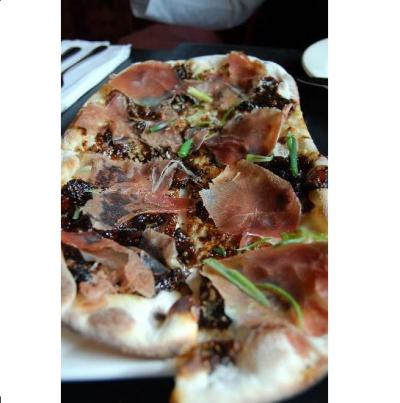 Come Try Our Fig and Prosciutto Pizza!