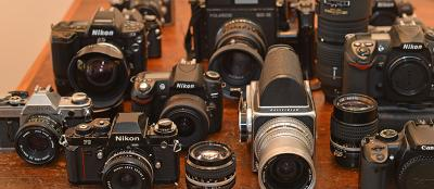 We Sell and Buy New and Used Cameras!