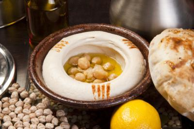 Free Hommous with any platter