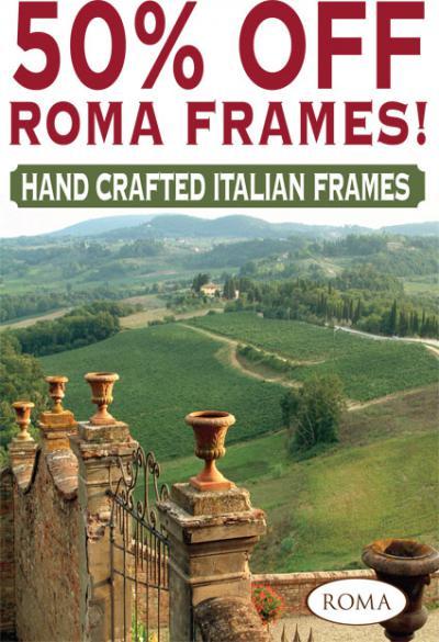 50% Off Roma Frames