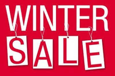 Big Winter Sale till Saturday!