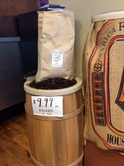 $9.99/lb Jessica's Biscuit Coffee Beans