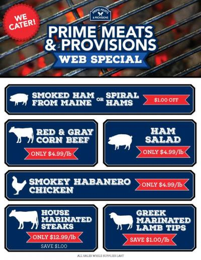 Check Out Our Web Specials!