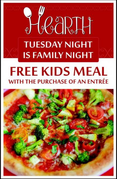 Tuesday is Kids' Night